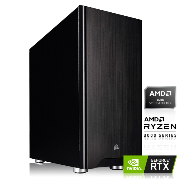 GAMING PC AMD Ryzen 7 3700X 8x3.60GHz | 16GB DDR4 | RTX 2080 Super | 240GB SSD + 1000GB HDD