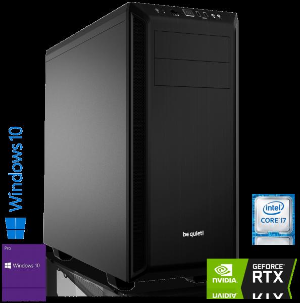 GAMING PC INTEL i7-9700 8x3.00GHz | 16GB DDR4 | RTX 2070 Super 8GB | 240GB SSD+2TB HDD | Win 10 Pro