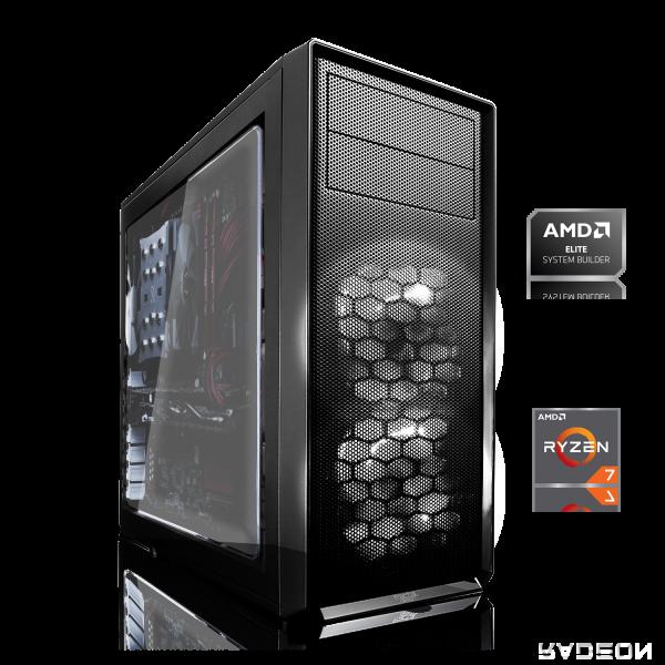 GAMING PC AMD Ryzen 7 4750G 8x3.60GHz   8GB DDR4   Radeon Graphics   240GB SSD