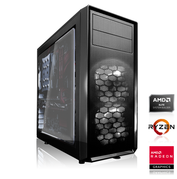 ZENCHILLI GAMING PC AMD Ryzen 5 2600 6x3.40GHz   8GB DDR4   AMD RX 580   240GB SSD