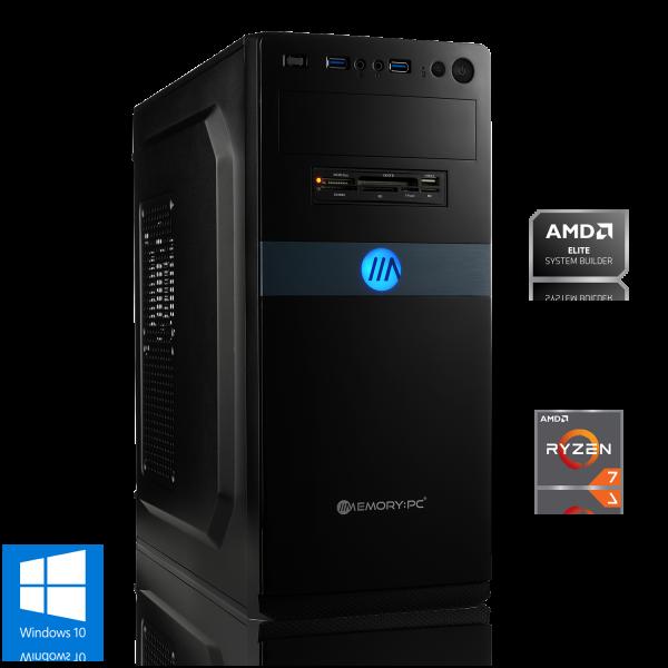 OFFICE PC AMD Ryzen 7 4750G 8x 3.60GHz   16GB DDR4   Radeon Graphics   480 GB SSD   Windows 10 Home