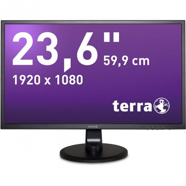 "Monitor 23.6"" Full HD 1920x1080px Terra HDMI, DVI"