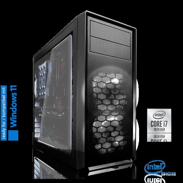 OFFICE PC INTEL i7-10700K 8x3.80GHz | 16GB DDR4 | UHD 630 | 240GB SSD + 1TB HDD | Win 10 Home
