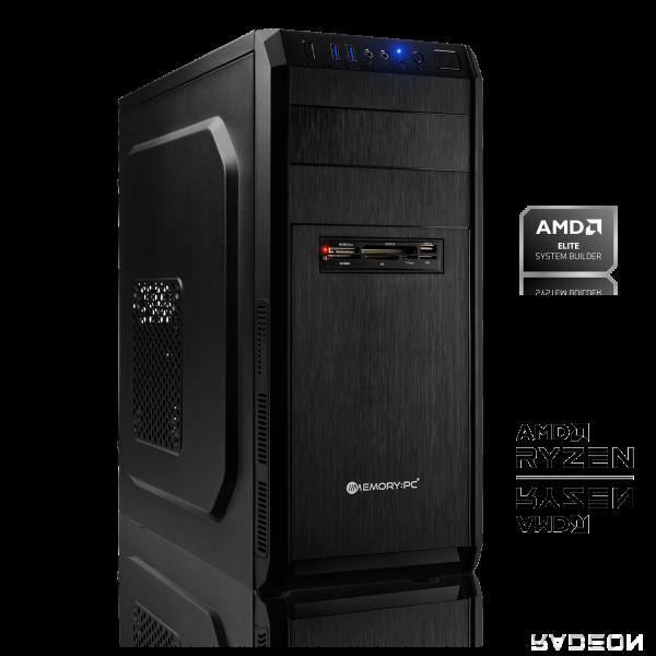 OFFICE PC AMD Ryzen 3 4300GE 4x3.50 GHz | 8GB DDR4 | Radeon Graphics | 120 GB HDD