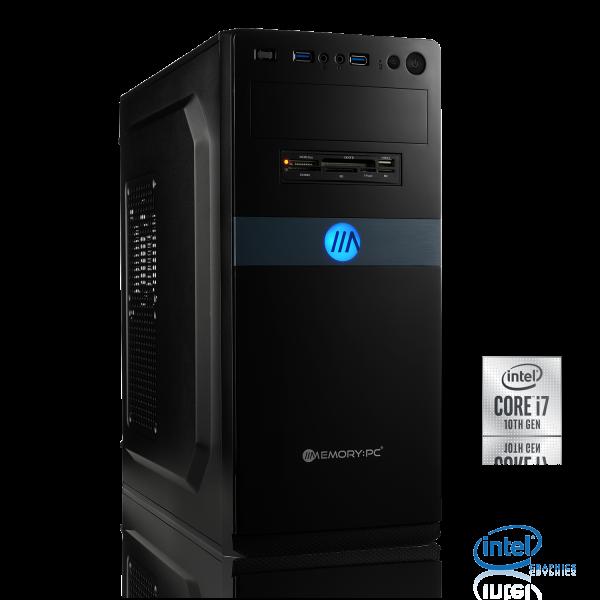 OFFICE PC INTEL i7-9700 8x3.00GHz | 16GB DDR4 | UHD 630 | 250GB M.2 SSD + 2TB HDD | Win 10 Home