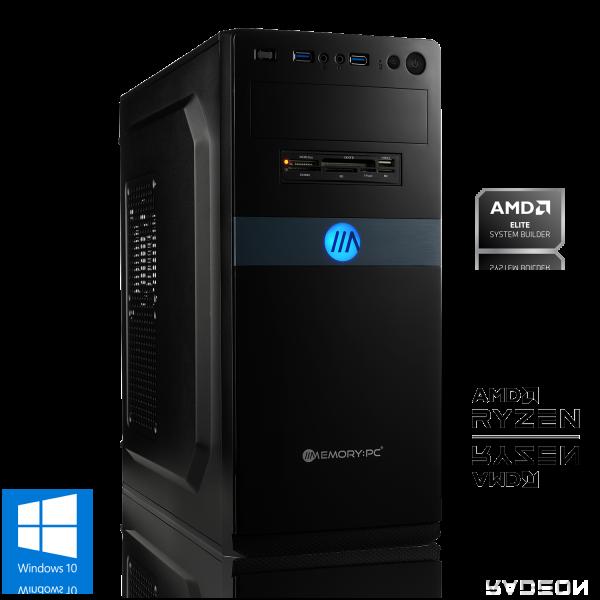 OFFICE PC AMD Ryzen 5 4650G 6x3.7GHz | 16GB DDR4 | Radeon Graphics | 120GB SSD + 1TB HDD | Win 10 Home