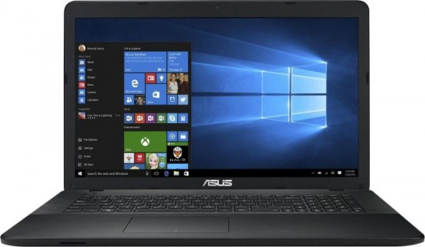 "Notebook ASUS F751NA-TYS27T 17.3"" 1600x900, Intel N3350 2x 1.10GHz, 4GB DDR3, 1000GB HDD, Brenner"