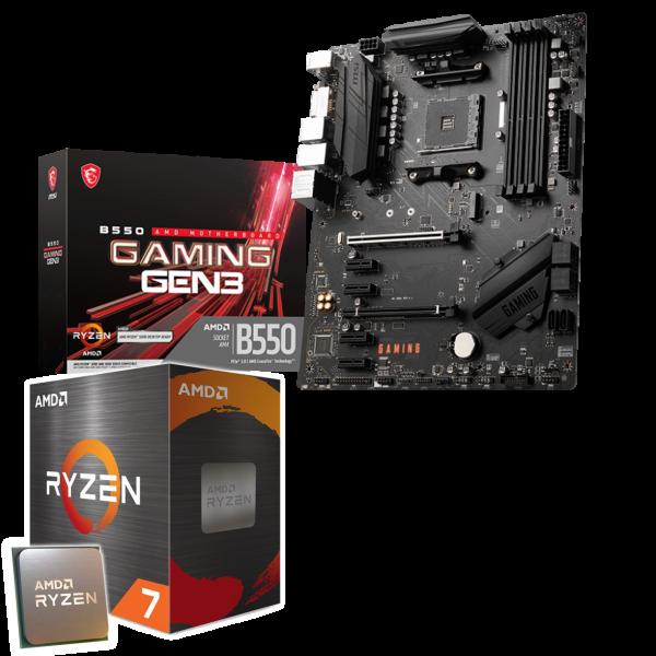 Aufrüst-Kit: MSI B550-A Pro - AMD Ryzen 7 5800X 8x 3.8 GHz - 8 GB DDR4