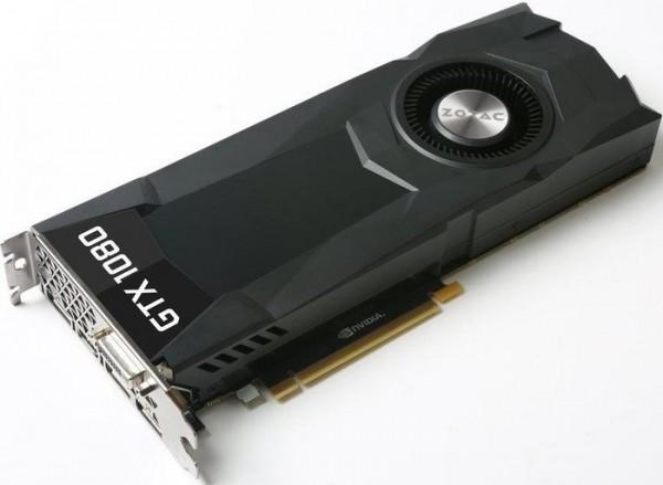 ZOTAC GeForce GTX 1080 8GB (DVI, HDMI, 3x DisplayPort) Bulk