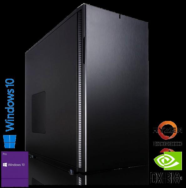 XDREAM GAMING PC | AMD 3970X | 32GB DDR4 | Quadro P4000 8GB | 500GB Samsung NVMe + 2TB | Win 10 Pro