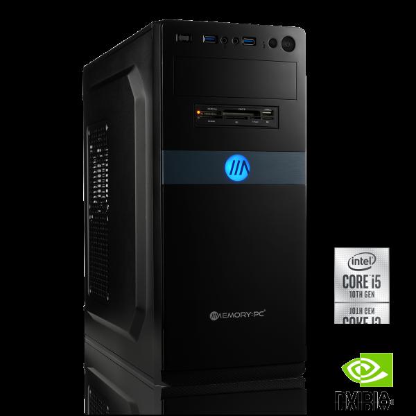 OFFICE PC INTEL i5-9500F 6x 3.00GHz | 8GB DDR4 | GT 710 | 480GB SSD | Win 10 Pro