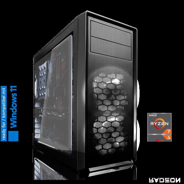 GAMING PC AMD Ryzen 7 5750GE 8x3.20GHz | 8GB DDR4 | Radeon Graphics | 240GB SSD