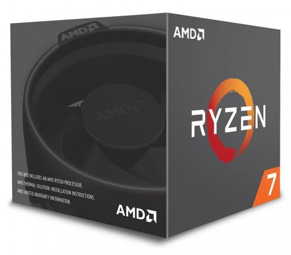 AMD AM4 Ryzen 7 2700 8x 3.20GHz 8C/16T 65W boxed Prozessor