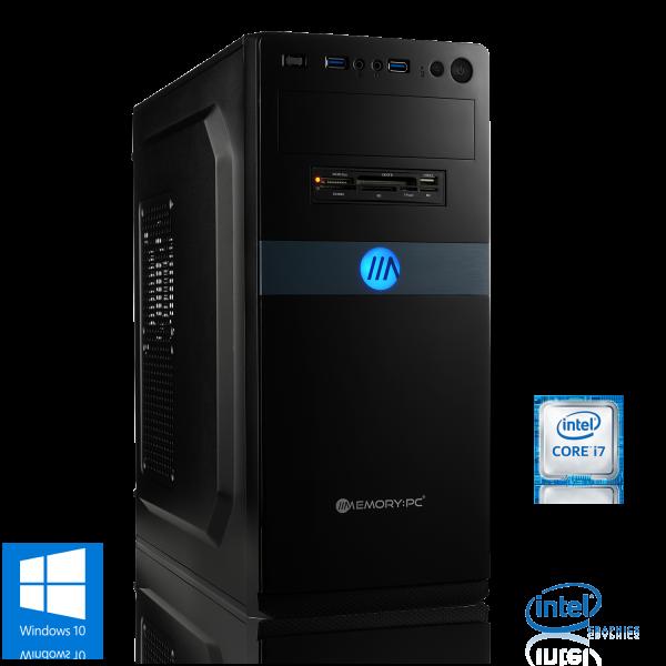 OFFICE PC INTEL i7-9700K 8x3.60GHz   16GB DDR4   UHD 630   240GB SSD + 2TB HDD   Win 10 Home