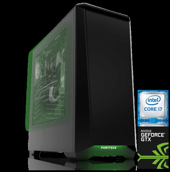 High End Gaming Computer i7-7700K, NVIDIA GTX 1080 Ti, 480GB SSD, 2000GB HDD, 32GB DDR4 RAM