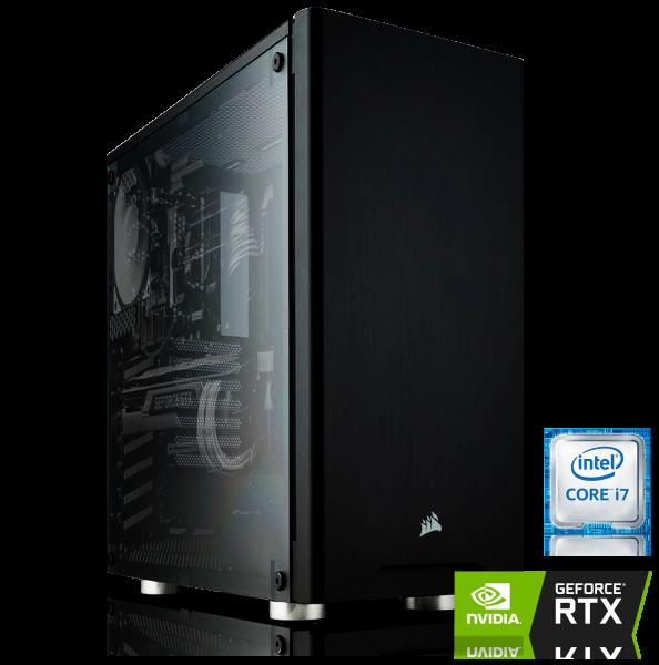 GAMING PC INTEL i7-8700 6x3.20GHz | 16GB DDR4 | RTX 2070 8GB | 480GB SSD + 1TB HDD
