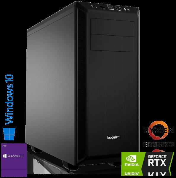 HIGH END PC AMD Ryzen 1920X 12x3.50GHz | 16GB DDR4 | RTX 2060 SUPER | 240GB SSD + 1TB | Win 10 Pro