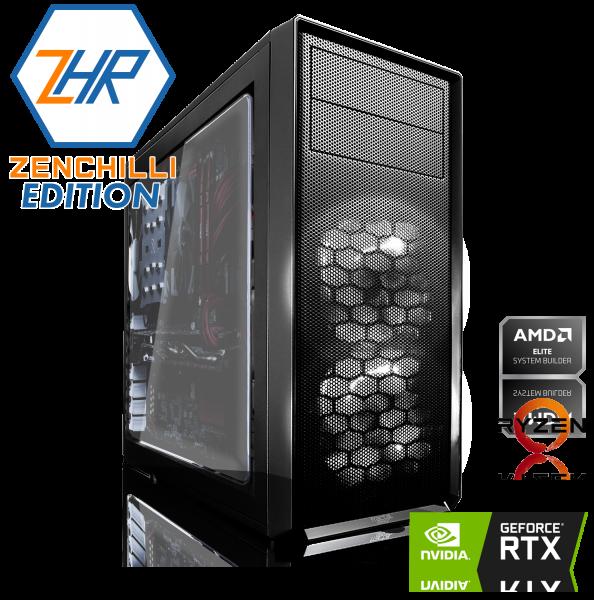 ZENCHILLI GAMING PC AMD Ryzen 5 2600 6x3.40GHz   16GB DDR4   NVIDIA RTX 2060 Super   500GB M.2 SSD
