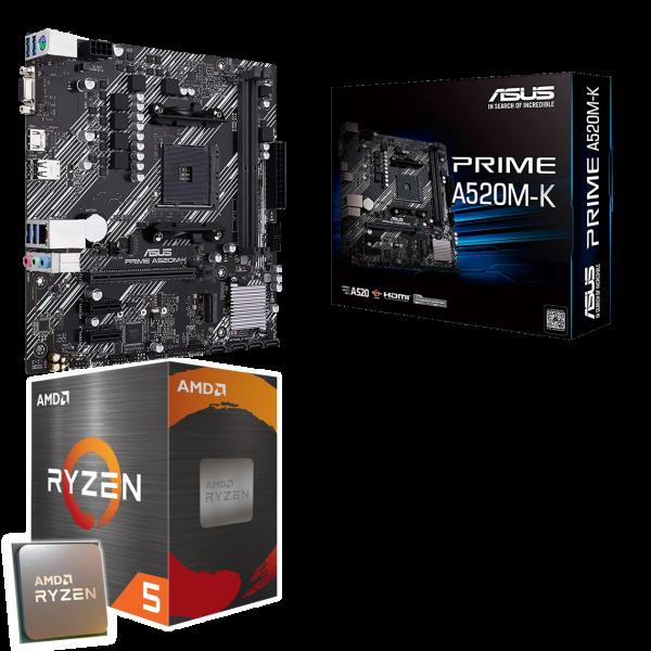 Aufrüst-Kit: MSI A320M-A Pro Max - AMD Ryzen 5 3350G 4x 3.60 GHz - AMD Radeon Graphics