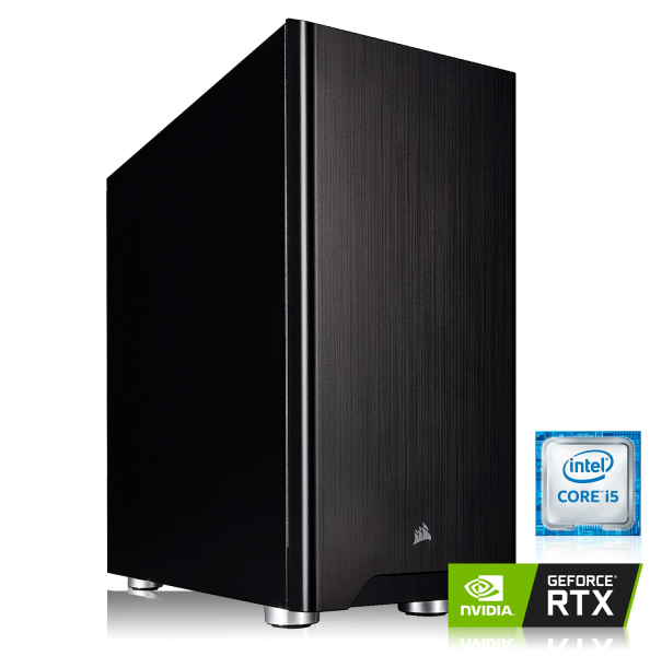 GAMING PC INTEL i7-9700 8x3.00GHz | 16GB DDR4 | NVIDIA RTX 2060 SUPER 8GB | 480 GB SSD + 1TB HDD