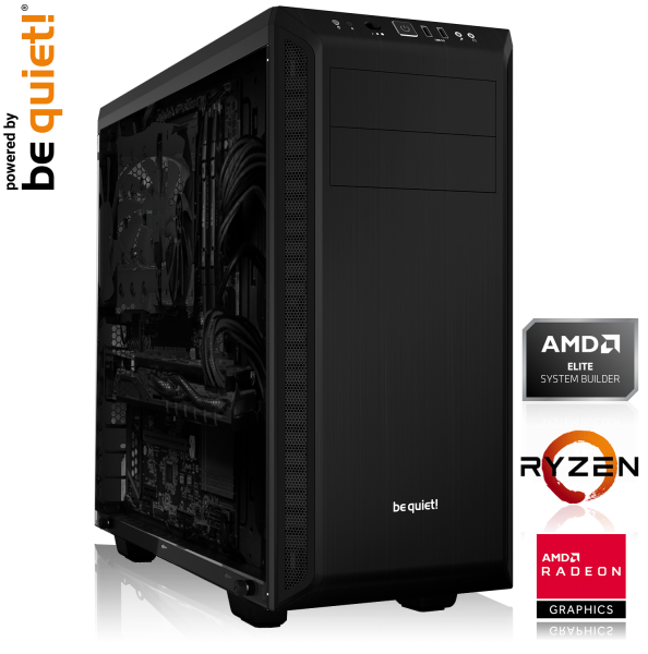 GAMING PC AMD Ryzen 5 2600 6x3.40GHz | 8GB DDR4 | AMD RX 590 | 240 GB SSD
