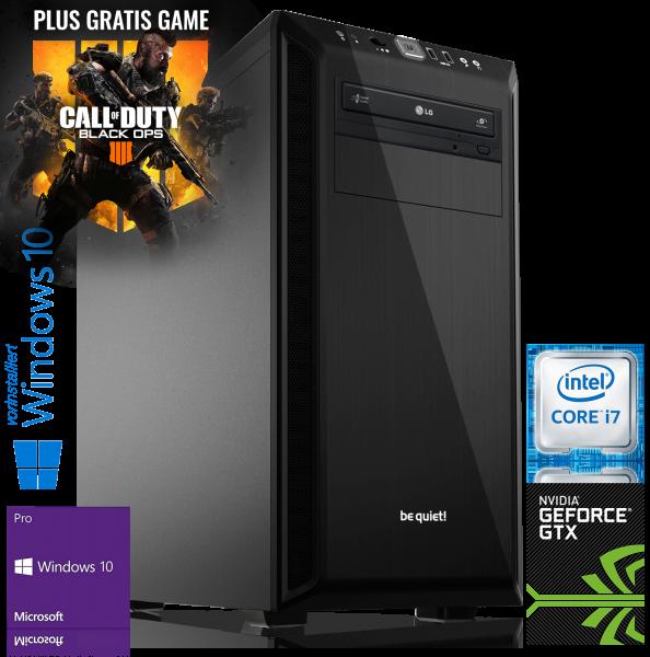 XDREAM GAMING PC INTEL i7-8700K 6x3.7GHz | 16GB | ASUS ROG STRIX GTX 1060 | 480GB + 2TB | Win 10 Pro