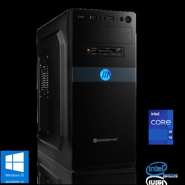 OFFICE PC INTEL i9-11900K 8x3.50GHz   16GB DDR4   UHD 750   480GB SSD + 2TB HDD   Win 10 Home