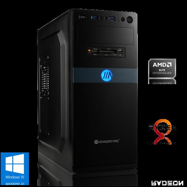 OFFICE PC AMD Ryzen 3 2200G 4x 3.5GHz   8GB DDR4   Radeon Vega 8   240 GB SSD   Win 10 Home