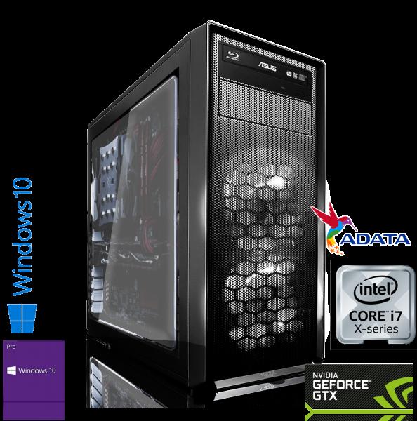 WORKSTATION INTEL i9-7900X 10x3.30GHz | 16GB DDR4 | GTX 1660 SUPER 6GB | 250GB M2 SSD+1TB HDD |Win10