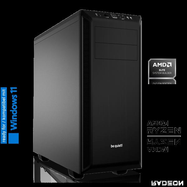 OFFICE PC AMD Ryzen 5 3350G 4x3.6GHz | 8GB DDR4 | Radeon Graphics | 240 GB SSD + 1TB HDD | Win 10 Home