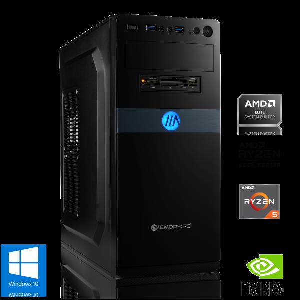 GAMING PC AMD Ryzen 5 3500X 6x 3.60GHz   8GB DDR4   GeForce GT 1030   1000GB HDD   Win 10 Home