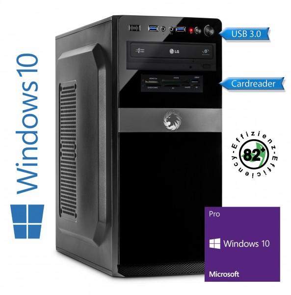 High End PC i7-8700 6x 3.2 GHz, 16 GB DDR4, 240 GB SSD + 2000 GB HDD