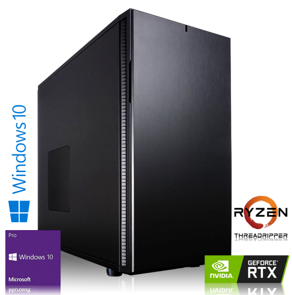 HIGH END PC AMD Ryzen 2950X 16x 3.50GHz | 32GB DDR4 | NVIDIA RTX 2080 8GB | 240GB SSD + 1TB | Win 10