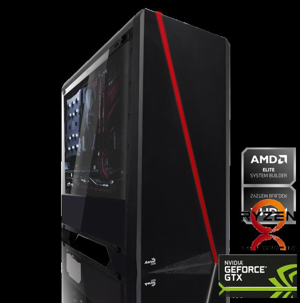 GAMING PC AMD Ryzen 3 3200G 4x3,60GHz   16GB DDR4   GTX 1660   1TB HDD