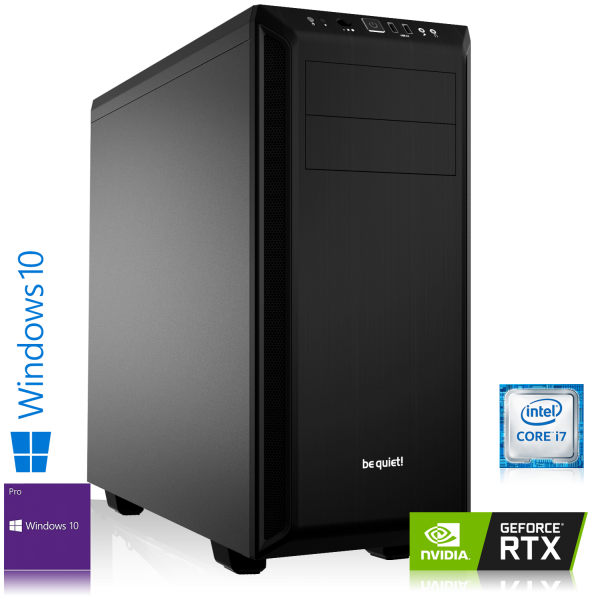 GAMING PC INTEL i7-9700 8x3.00GHz | 16GB DDR4 | RTX 2060| 480GB SSD + 2TB HDD | Win 10 Pro