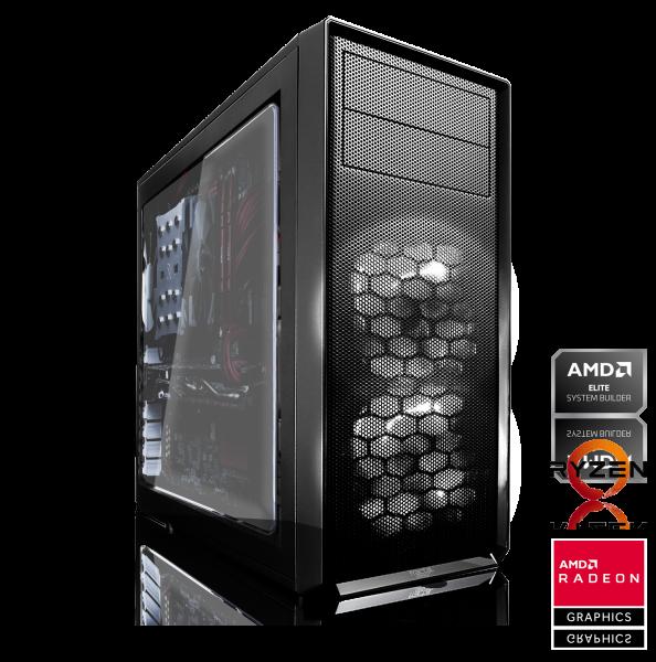 HIGH END PC AMD Ryzen 5 3500X, 6x 3.60GHz | 16GB DDR4 | AMD RX 580 8GB | 240GB SSD + 1TB