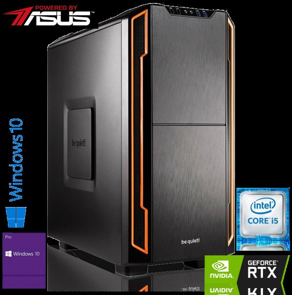 GAMING PC PBA INTEL i9-9900K 8x3.60GHz | 32GB DDR4 | RTX 2080 | 480GB SSD + 2TB HDD | Win 10 Pro