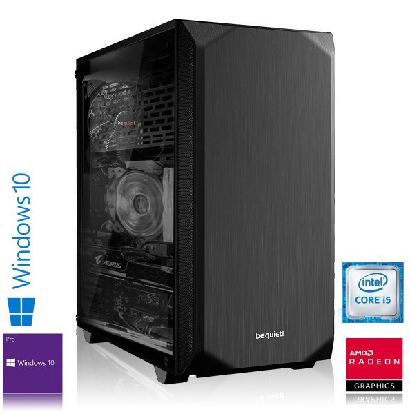 GAMING PC INTEL i5-9400F, 6x2.90GHz | 16GB DDR4 | RX 5700 8GB | 240GB SSD + 1TB HDD | Win 10 Pro